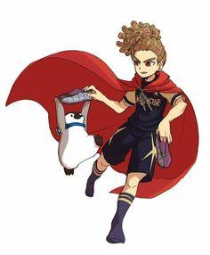 Kidou Yuuto from Inazuma Eleven Ares no Tenbin Jude Sharp, Inazuma Eleven Go, Boy Art, Manga, Pop Culture, Disney Characters, Fictional Characters, Princess Zelda, Kawaii