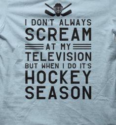 Watching the Leafs be like. Cheering and ringing the cow bells! Hockey Stuff, Hockey Teams, Sports Teams, Ice Hockey, Hockey Sayings, Funny Hockey, Hockey Season, Toronto Maple Leafs, Calgary