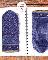 Norwegian Snail Mittens pattern by Adrian Bizilia