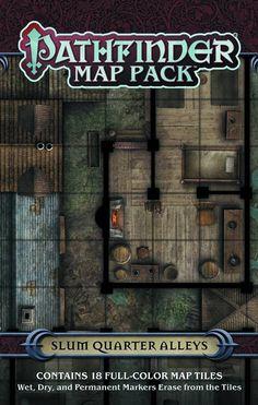 PATHFINDER MAP PACK SLUM QUARTER ALLEYS