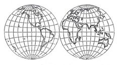 Vintage Clip Art - Globes, Earth - Steampunk - The Graphics Fairy