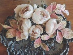 fabric flowers--roses