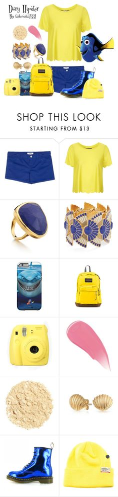 """""""Dory Hipster"""" by fashionista7331 ❤ liked on Polyvore featuring MANGO, Topshop, Monica Vinader, Fujifilm, Burberry, Illamasqua, Bling Jewelry, Dr. Martens and Elm Company"""