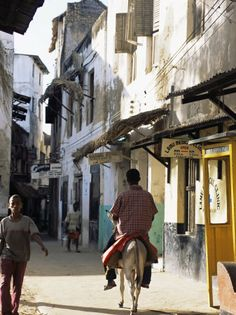 Lamu, Kenya. Last time I was on this island, bicycles, on foot, and donkeys were the only mode of transportation.