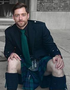 Richard Rankin, who will play Roger Wakefield in the OUTLANDER TV series!
