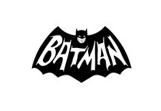 Retro Batman 60's TV Series logo Vinyl Decal Sticker