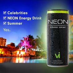 NEON Energy Drink Party in Malibu
