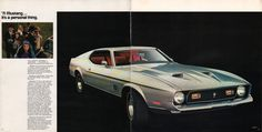 Ford 1971 Mustang Sales Brochure
