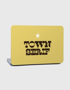 Town Serif - LAPTOP SKINS - PRODUCTS