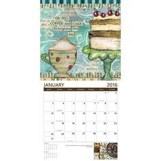 Lisa Kaus Java 2016 Wall Calendar: 9780741252029 | | Calendars.com