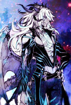 Dark Fantasy Art, Fantasy Rpg, Magical Creatures, Fantasy Creatures, Incubus Demon, Anime Guys, Manga Anime, Drawing Proportions, Nasu