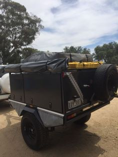 Custom made hand built off road camper trailer 2015 with excellent condition ARB Simpson 2 roof top tent sleeps 2 adults 2kids and full annex  can fit swag or ..., 1134611111