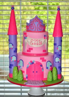 Hope's Sweet Cakes: Princess Castle Cake