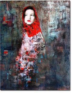 Richard Burlet 1957-   Femme Femme Femme
