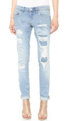 Skinny Boy Jeans // Blank Denim