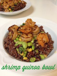 shrimp quinoa bowl | cooking from the heart