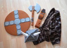 mcompany style: Un disfraz de carnaval. De vikingo y hecho a mano
