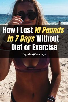 Brilliant weight loss tip for beginners. Lose 10 pounds in a week without diet or exercise. Lose 10 Pounds In A Week, Lose Weight In A Week, Losing 10 Pounds, How To Lose Weight Fast, Weight Loss Plans, Best Weight Loss, Weight Loss Journey, Weight Loss Tips, Start Losing Weight