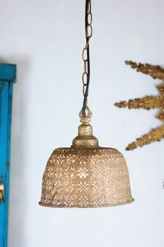 Moroccan Ceiling Pendant Light by Made With Love