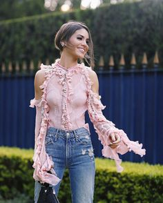 Pink vibes with Camila Coelho.