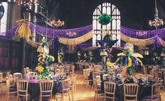 Elegant Mardi Gras Party                     I Want A Invitation To This Party !!!!!!