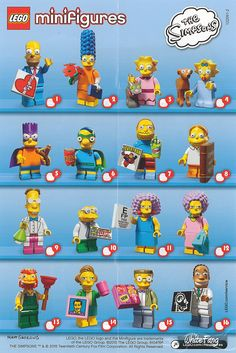 71009 LEGO Minifigures Simpsons Series 2 (due for release approx May 15)