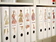 Ideas para tu piso: decorar con revistas de moda I Vagón 293