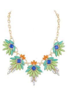 Tropical Paradise Bib Necklace