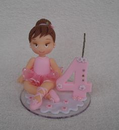 Ballerina Birthday Parties, Girl Birthday, Birthday Cake, Tutu Party, Baby Party, Ballerina Cookies, Baby Mickey, Holly Hobbie, Pasta Flexible