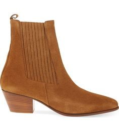 3e65eb230c08 Amelya heeled suede Chelsea boots Suede Chelsea Boots