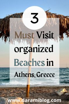If you are in Athens and need to relax I suggest visiting an organized beach in the southern suburbs. Come and check my detailed guide on everything you need to know and choose the best one for you. #beaches #beachesinathens #travel #exploreathens #visitgreece Places Worth Visiting, Places To Visit, Travel Guides, Travel Tips, Travel Around The World, Around The Worlds, Best Flight Deals, Virtual Travel, Online Travel