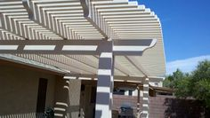Alumawood patio covers Metro Awning tucson aluma lattice shade