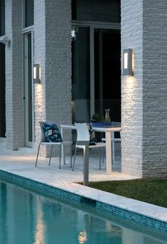 Buy the Hinkley Lighting Titanium Direct. Shop for the Hinkley Lighting Titanium Atlantis Tall Outdoor Wall Sconce with Integrated LED and save. Outdoor Light Fixtures, Outdoor Wall Sconce, Outdoor Wall Lighting, Exterior Lighting, Wall Sconce Lighting, Modern Lighting, Wall Sconces, Lighting Ideas, Mirrors