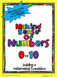 Number Sense 0-10 Printable Math Pack will provide students with a meaningful activity that will help them understand early number concepts and develop number sense!    Included in this number sense packet are bonus 10 Frame flash cards to help students learn numbers in a flash!   This resource is great for morning work, homework or math warm up!