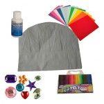 In het #knutselpakket koksmuts van www.suuskinderfeestjes.nl vind je alle materialen om met kinderen papieren koksmutsen te versieren. Leuk op je #kookfeestje