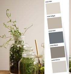 Bilderesultat for greige stue Norman Reedus, Color Combinations, My House, Glass Vase, Sweet Home, Colours, Pure Products, Wallpaper, Plants
