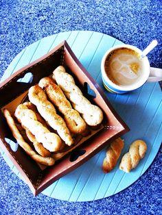 Fidalguinhos: Portugal plaited biscuits with cinnamon and lemon zest.