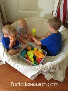 This is too cool! 3 Reasons to use your baby pool for INDOOR play! @Becky Marie (For This Season)