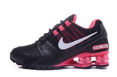 cbe44d3c77e Womens Nike Shox Avenue NZ Black Hyper Pink White Footwear NIKE-NSZ002158