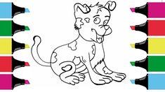 How to Draw a Dog Easy for Kids | Easy Kids Drawing #drawdog #draw #dog #kids #children #drawanimal