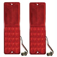 1967-1972 Truck LED Tailight Set Fleetside Chevrolet/GMC
