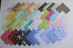 (Zm-9) 48  Blatt - Scrapbookingpapier von Papieratelier auf DaWanda.com
