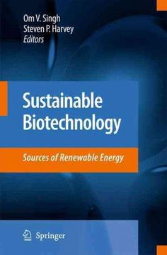 Sustainable Biotechnology: Sources of Renewable Energy