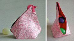 Петух оригами для оригами пасхальное яйцо схема