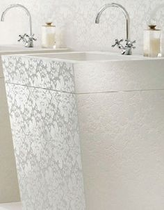 White Lace from Caesarstone's Motivo Collection