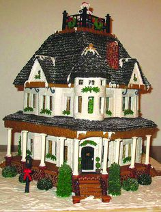The First Snow by CakeArtNC  HOLY COW what a CAKE!!!!!!!!!!!!!!!!!!