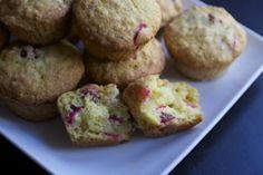 Muffins canneberge et orange