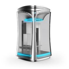 3ders.org - Dynamic and fresh looking Rapide One 3D printer soon on indiegogo | 3D Printer News & 3D Printing News