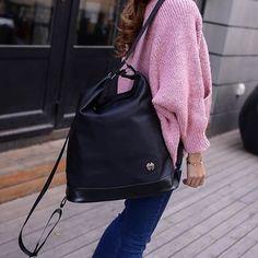 Seok - Convertible Nylon Backpack