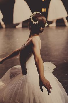 Always loved ballerinas. Should have kept going when I was young